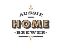 Aussie Home Brewer: Logo Design Offset 2