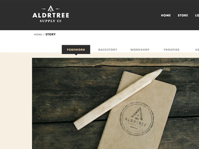 ALDRTREE: Website Preview site website web story about interface ecommerce