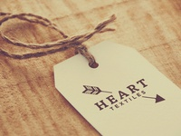 Heart Textiles -- Label Treatment