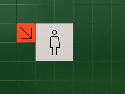 Genderless Restroom Icons wc bathroom restroom illustration icons graphic design design