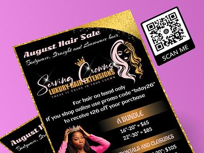 Flyer 11 vector beauty salon makeup artist logo design branding illustration glitter design flyer template flyer artwork flyer design flyer