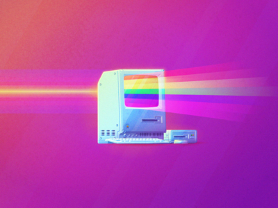 V I V I D spectrum prism apple. mac. macintosh