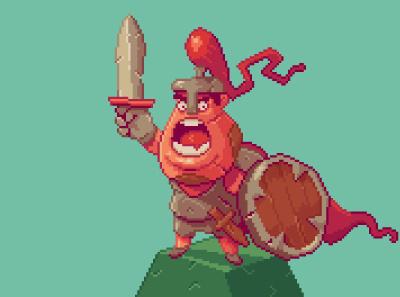 kniiight! illustration gameart rpg 3d characterdesign iosgame indiegame androidgame mobilegame videogame pixel pixelartwork pixelart