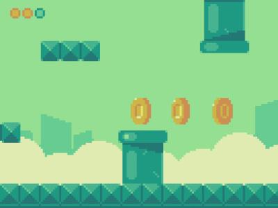 Mockup! item mobile ui ui retro design retro indiegame videogame mobilegame pixelperfect pixelart pixel art