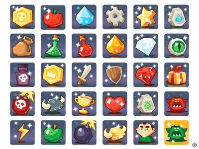 game items by paul lamy de la chapelle dribbble