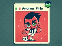 soccer card (freelance work!)