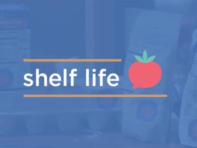 Shelf Life tomato logo food app