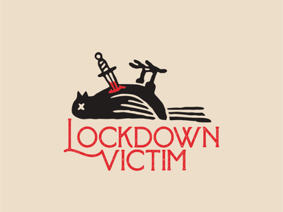 Lockdown victim animation vector icon design