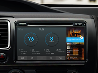 Daily UI #18 - Car Interface
