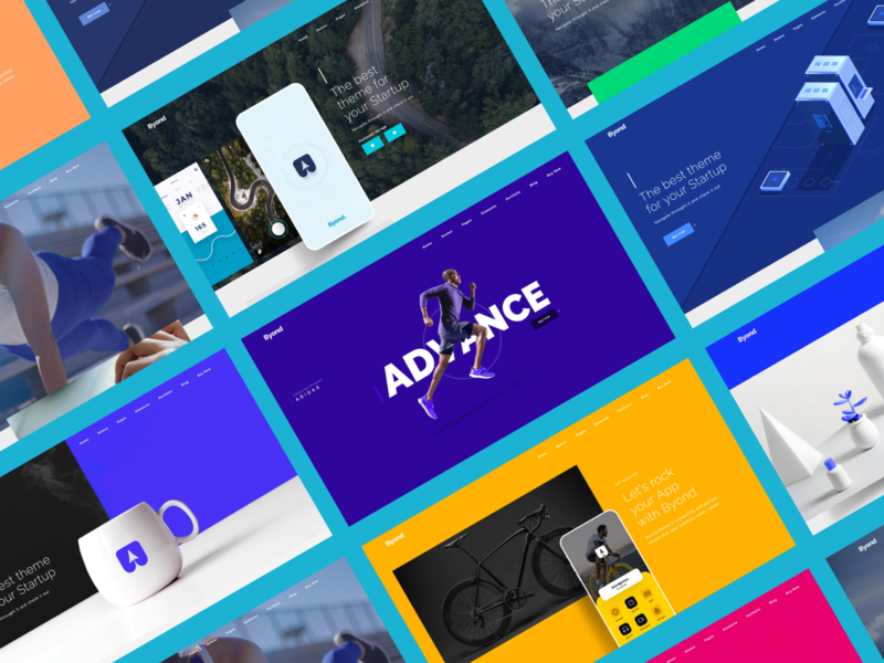 Byond MultiPurpose Theme - Pages web pages pages templates ui ux websites wordpress design website design wordpress theme template design