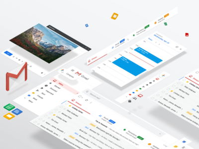 Gmail New Features categories lable highlights organize inbox email design email 2d google features gmail
