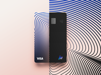 Visa/Juan Mora Credit Card Design patterns bank card debit card brand identity branding design brand design card banking payment method credit card design credit cards card design