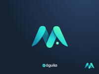 Mi Aguila logo design