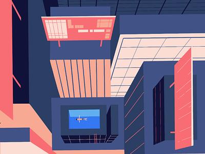 Lonely vertigo illustration graphicdesign design