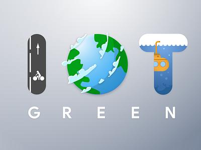 IOT Green icondesign visualdesign icons