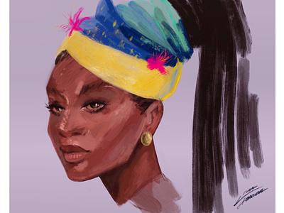 Look at me closely painting portrait equality digitalart illustration art illustration design illustration