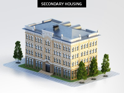 secondary housing