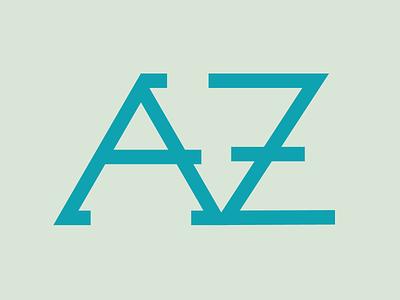 AVZ Monogram Logo monogram logo design logo logo design monogram branding