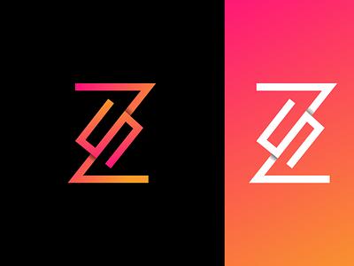 ZS Monogram Logo monogram logo design logo design monogram logo branding