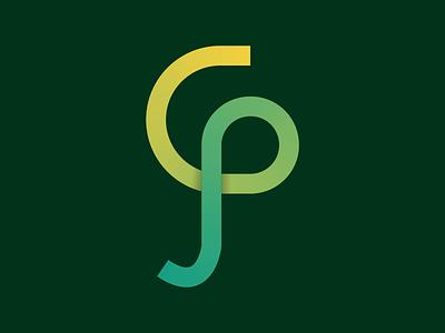 CP Monogram Logo logo monogram logo design logo design monogram branding