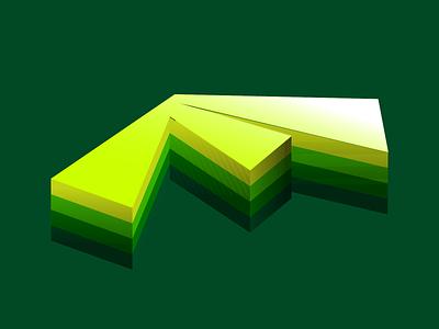 """""""F"""" 3D Letter Logo Design 3d logo 3d design logo design logo branding"""