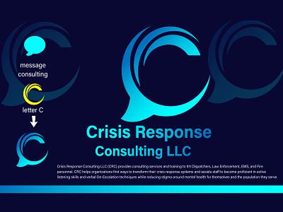 Crisis Response Consulting Logo communication marketing simple logo corporate logo company logo consultant logo financial logo finance branding design logo modern logo creative logo illustration