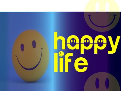 Happy Life brand logos vector branding design logo simple logo modern logo illustration