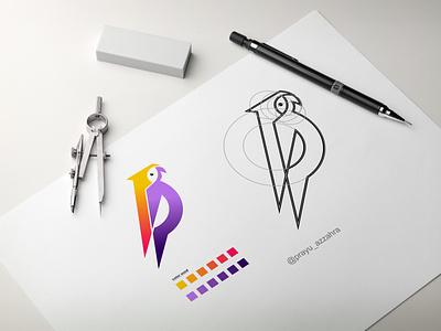 Bird logo design huming bird bird logo ilustrtaions logo design bird modern abstract typography logo vector bird logo design