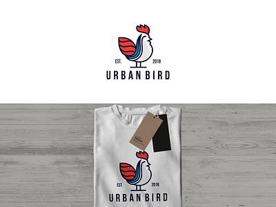 Urban Bird  logo design animals ilustrations branding illustration creative design modern logo abstract typography vector graphic design 3d animation ui urban bird urban bird  logo design