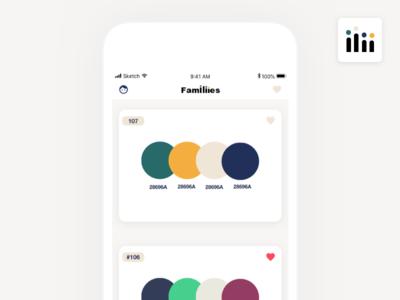 App - Families - Home
