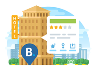 MAPS.ME Hotels Illustration