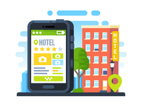 Hotel Booking in MAPS.ME