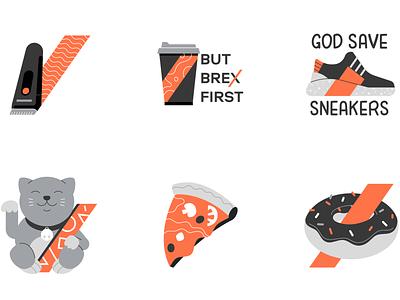 Ecommerce | Brex.com icons vector business stickers brex commerce finance