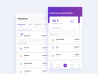 Expense app sketch interface banking ux ui mobile app expense
