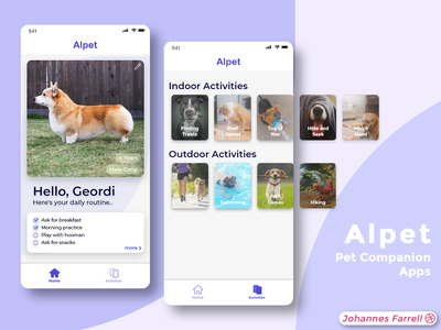 Alpet Mobile App UI Design ux ui design firstshot ui  ux mobile design mobile ui mobile