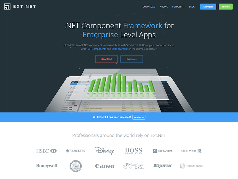 Ext.NET Website