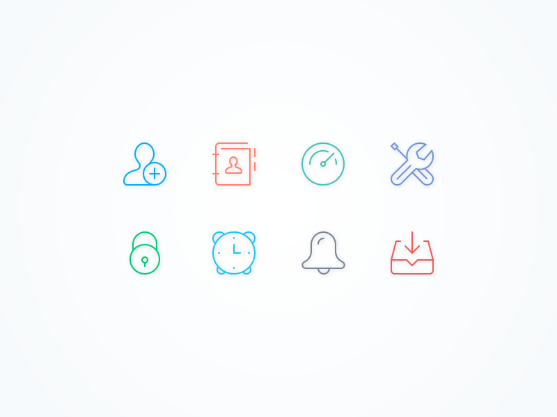 Simple UI Icons