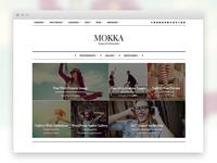 Mokka - Minimal & Elegant WordPress Blog