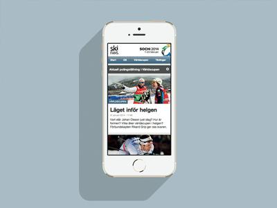 Ski fans - fan website