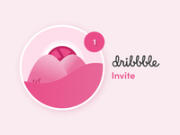 Dribbble Invite invite friends invitations invite giveaway designer interface design creative app unity theme ux ui pixelzeesh