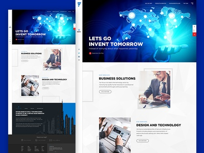 IN-vent dubai pakistan technology pixelzeesh interface web news template