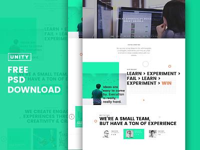Trio - Unity Free PSD dubai themeforest web interface pixelzeesh islamabad theme unity