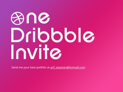One Invitation invite dribbble pixelzeesh web branding design interface creative app ux ui theme dubai