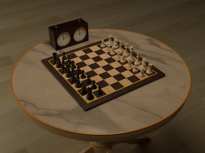 Chess chess piece chessboard chess art 3d design blender 3d modeling 3d model 3d illustration 3d art