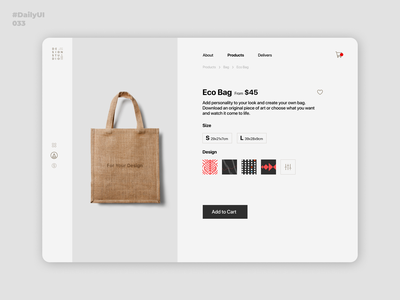 Customize Product  Daily UI: 033 editable 033 customizable customize product customize customizeproduct dailyui033 branding uiuxdesign daily 100 challenge dailyui001 dailyuichallenge dailyui uidesign