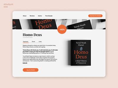 Special Offer. Daily UI: 036 homodeus book uidesign uiuxdesign offer special special offer specialoffer 036 dailyui036 dailyui001 dailyuichallenge dailyui
