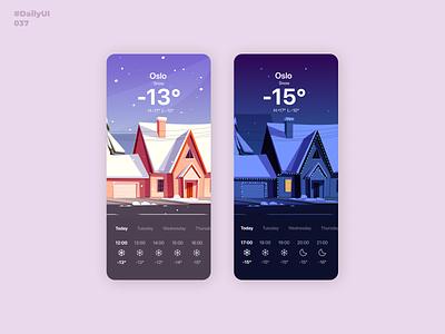 Weather. DailyUI: 037 dailyui001 dailyui004 dailyui037 illustration mobile app mobile app design uiux uidesign dailyuichallenge dailyui weather app weather