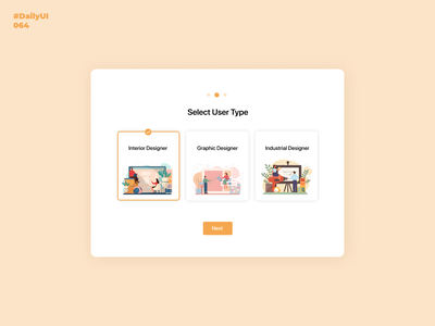 Select User Type. Daily UI: 063 illustration selectusertupe daily 100 challenge uiux dailyui001 uidesign dailyui dailyuichallenge 064 dailyui064