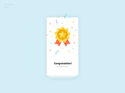 Badge. Daily UI: 084 design dailyui dailyuichallenge congratulation 084 dailyui084 medal badge