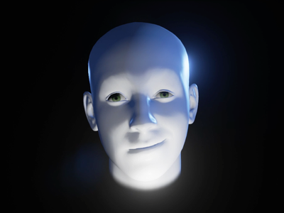 Herbert head interactive 3d human unrealengine